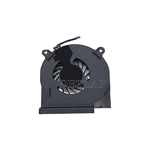 DBTLAP Ventilador de la CPU del Ordenador portátil para DELL Latitude E6410 Ventilador 04H1RR DC280007TFL CPU BATA0610R5H 002 Ventilador
