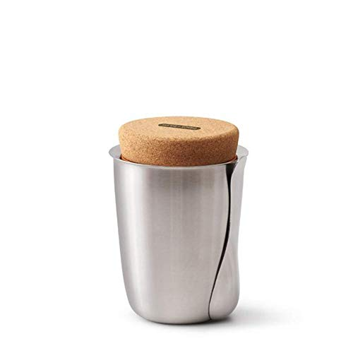 Thermo Pot - Lunchbox, Essen 2 Go, Bento Box - Edelstahl - Silber 500 ml Ø 12,5 cm Höhe 17 cm