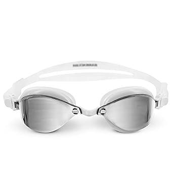 Barracuda Fenix Mirror Swim Goggle for Adults IE-72710  White