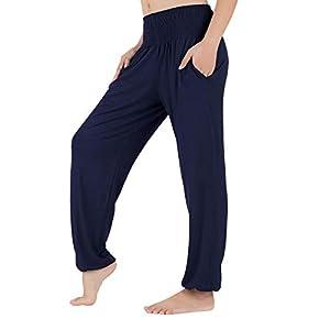 Lofbaz Pantalones De Chándal Holgados De Yoga para Mujer | DeHippies.com