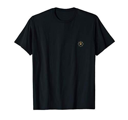 Franc-Maçon Boussole Carré T-Shirt