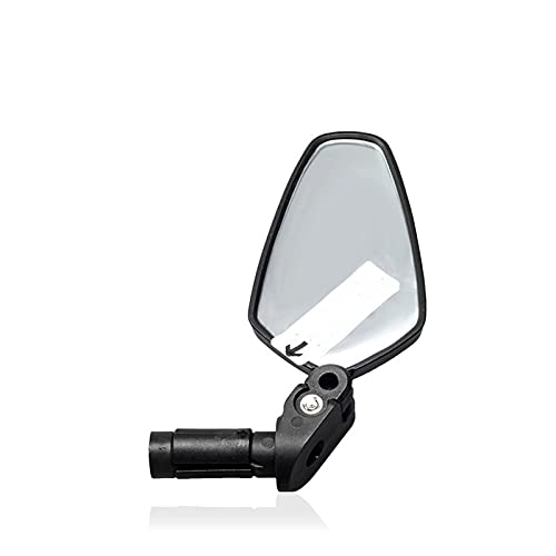 2 espejos retrovisores para bicicleta, 360°, giratorios, para manillar, gran angular, espejo retrovisor de seguridad para bicicleta universal, bicicleta de montaña, bicicleta de carreras