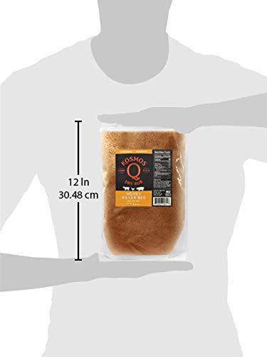 Kosmos Q Honey Killer Bee BBQ Rub | Sweet & Savory Blend | Great on Brisket, Steak, Chicken, Ribs & Pork | Best Barbecue Rub | Meat Seasoning & Spice Dry Rub | 1 lb Bag