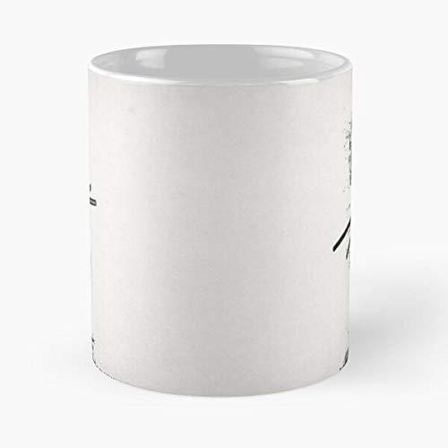 Armour Japanese Samurai Ninja Ronin Armor Japan Warrior - Le Meilleur 11 oz 15 oz fabriqué à Partir de Tasse à café en céramique de marbre Blanc I - Personnaliser