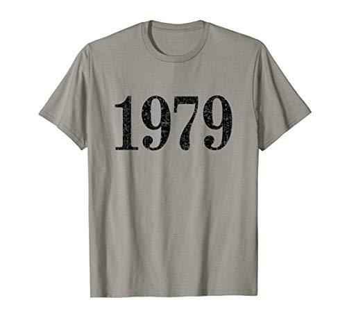 Jahr 1979 (Vintage Schwarz) 42. Geburtstag Geschenk T-Shirt