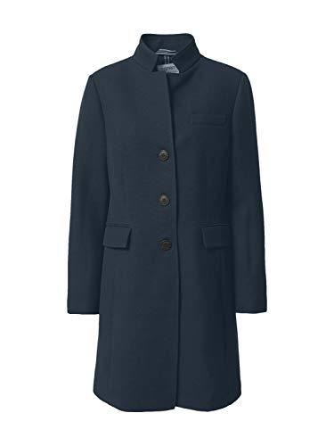 ESPRIT Abrigo con textura. azul marino S