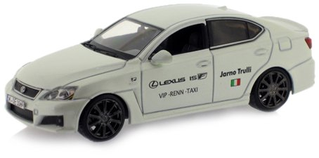 IXO J-Collection JC101 - Lexus IS-F Nürburgring Taxi Jarno Trulli Version 2009