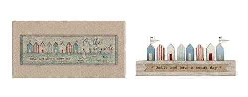 Miniatura Shabby Chic de madera), diseño de casetas de playa/Decoración–Náutico/Playa/–Figura de Seaside