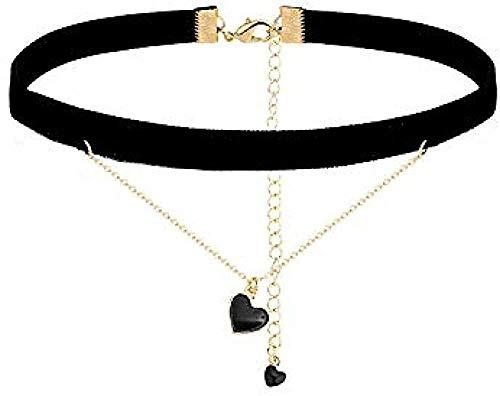 LKLFC Collar Mujer Collar Hombre Colgante Collar Amor Collar Colgante Collar Cadena Collar Niñas Niños Regalo
