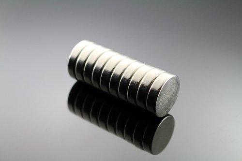 世界最強磁石/2cmネオジム磁石 【10個】