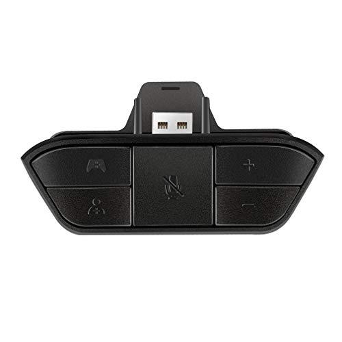 Adaptador de fone de ouvido estéreo Conversor de fone de ouvido para Xbox One Game Controller Black