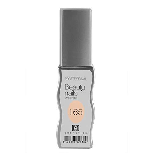 MH Cosmetics Gel Polish Vernis semi-permanent 165 Beige clair 1 pièce 10 ml