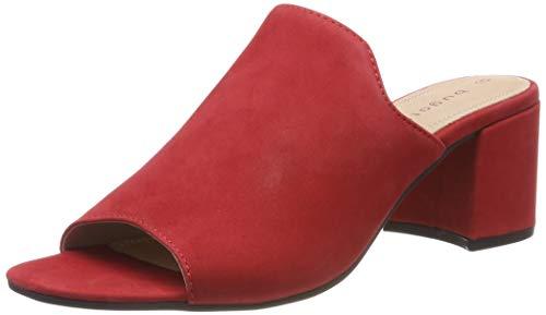 bugatti Damen 411679911500 Pantoletten, Rot (Red 3000), 42 EU