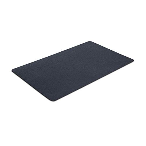 "VersaTex Multi-Purpose Rubber Floor Mat for Indoor or Outdoor Use, Utility Mat for Entryway, Home Gym, Exercise Equipment, Tool Box Liner, Garage Mat, Under-Sink, Patio, and Door Mat; 30"" x 48"", Black"