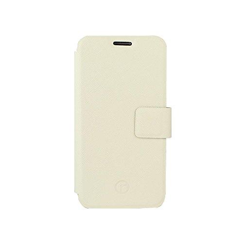 Redneck RNCS01280 Elano Stand Folio Schutzhülle für Samsung Galaxy S6 Edge weiß