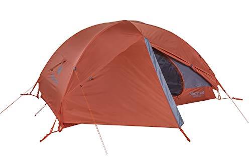 Marmot Vapor 2P Ultraleicht Personen, Kleines 2 Mann Trekking, Camping Zelt, Absolut Wasserdicht, Burnt Ochre