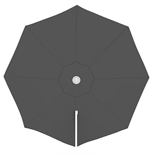 paramondo Sonnenschirm Bespannung Ink. Air Vent für parapenda Ampelschirm (3,5m / rund), grau