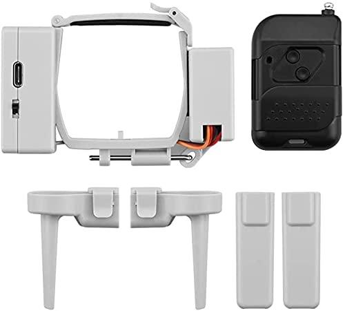 LODCC Compatibile con DJI Mini 2/Mini Drone Airdrop System Esca da Pesca Fede Nuziale Consegna la Vita Salvataggio Lanciatore Dropping Transport Gift ( Colore : 2 ) stia Tranquillo