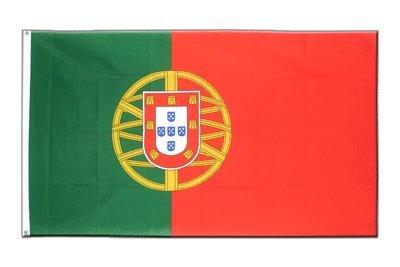 Portugal Flagge, portugiesische Fahne 150 x 250 cm, MaxFlags®