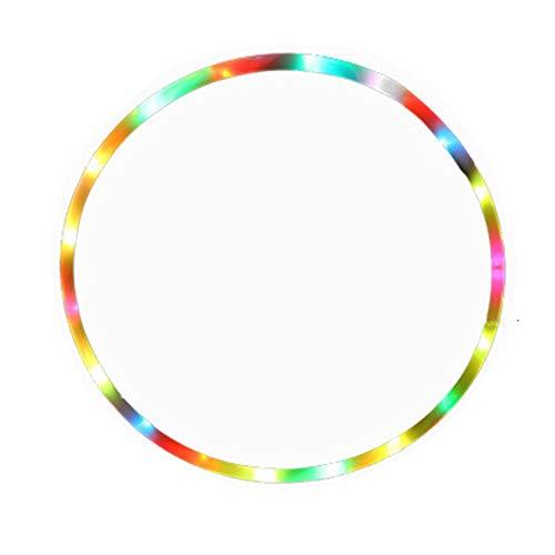 OakHills Aro Hoola con luz LED de 24 pulgadas para niños de...