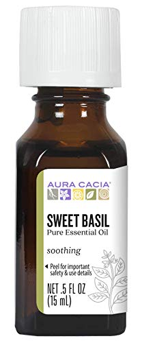 Aura Cacia Pure Basil, Sweet Essent…