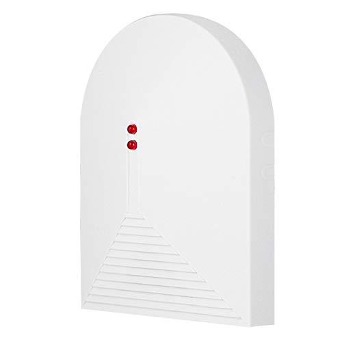 Yctze Sensor de Cristal 12VDC 433MHz Ventana de Cristal Sensor de Alarma de Rotura de Cristal Sistema de Alarma de Seguridad para el hogar Filtro Digital RFI/emi, inmunidad Muy Alta