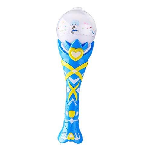 KESOTO Kinder Elektrische Zauberstab Seifenblasenmaschine Seifenblasen Spielzeug für Geburtstag, Urlaub, Party usw.