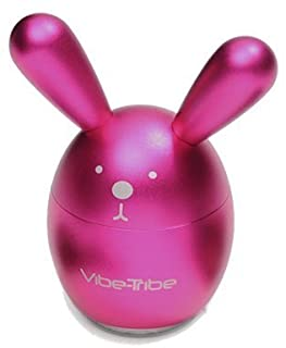 Vibe-Tribe Bunny: Compact Vibration Speaker & MP3 Player with SD-Card MP3 Reader, FM Radio and IR Remote Control