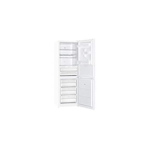 Brandt - Réfrigérateur combiné - Charnière montée à droite - 315L - Froid No Frost - Blanc - Classe énergétique A++ BFC8632NW