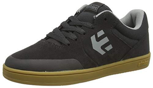 Etnies boys Marana Skate Shoe, Dark Grey/Grey, 5C Medium US Big Kid