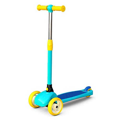 Best Prices! Scooter NLIAN- 3 Wheel Kick for Boys and Girls, 66-72cm Adjustable Height Smart Steerin...