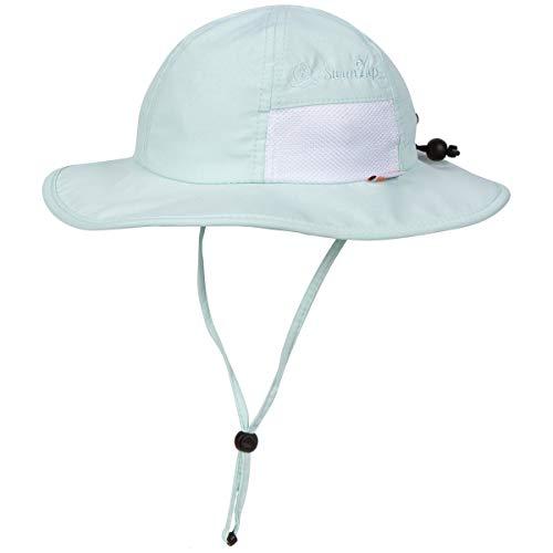 SwimZip Kid's Sun Hat - Wide Brim UPF 50+ Sun Protection Hat | Mint 0-6 Month