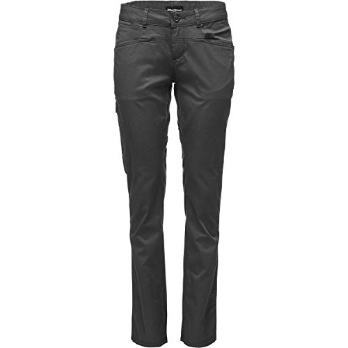 Black Diamond W Levitation Capris Pantalons décontractés, Carbon, 8 Mixte