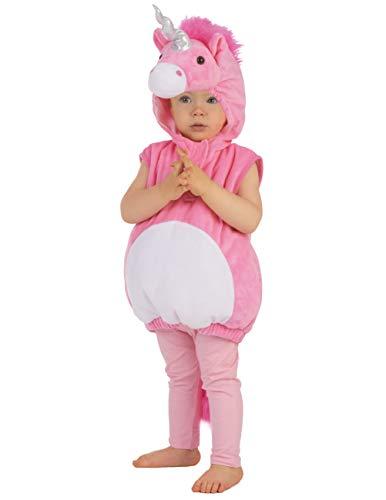 Generique Weiches Einhorn-Kostüm für Kinder 98/104 (3-4 Jahre)