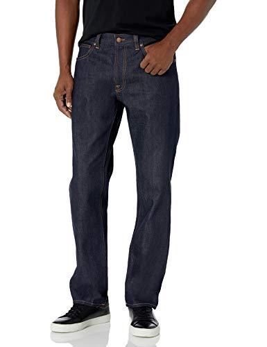 Nudie Jeans Gritty Jackson Dry Classic Nav - - 34W x 32L