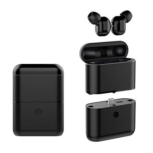 OYSOHE TWS Auriculares Bluetooth Auriculares 5.0 Auriculares Deportivos Mini Auriculares Auriculares (Negro)