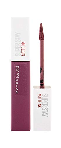Maybelline New York Tinta Labbra SuperStay Matte Ink, Rossetto Matte Liquido a Lunga Tenuta, Visionary (95), 5 ml