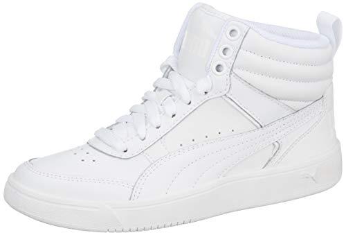 Puma Unisex-Erwachsene Rebound Street V2 L Hohe Sneaker, Weiß (Puma White-Puma White 2), 43 EU