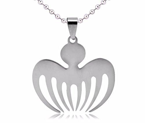 Halskette Kette Halsanhänger Halsschmuck Edelstahl Spectre James Bond 007 Prop Mode Silber Neuheit Design Schmuck