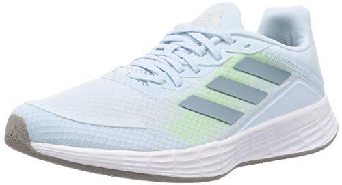 adidas Duramo SL, Zapatillas de Running Mujer, Sky Tint/Ash Grey S18/FTWR White, 41 1/3 EU
