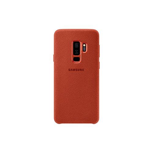 Samsung EF-XG965AR Alcantara Schutzhülle für Galaxy S9 + Rot