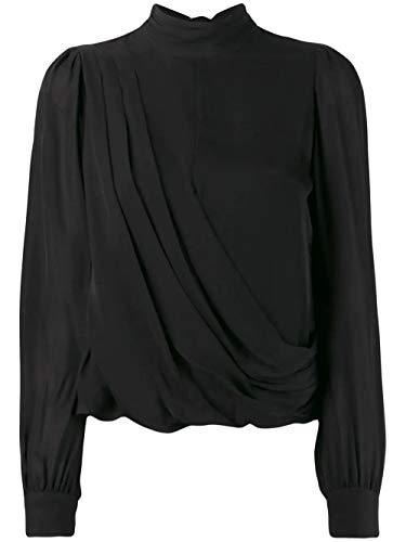 Luxury Fashion | Michael Kors Dames MH94LZ6B06001 Zwart Zijde Blouses | Lente-zomer 20