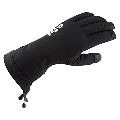 Gill Herren Turnier-Handschuhe, wasserdicht, Schwarz, Größe XL