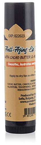 Anti-Aging Lip Balm with Cacao Butter & Argan Oil