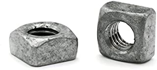 Steel Hot Dip Galvanized 3//4-10 Square Nuts 300 pcs