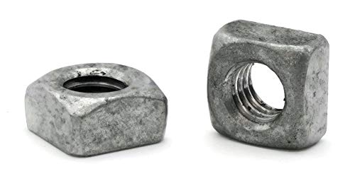 Square Nuts Hot Dipped Galvanized Grade 2-3/4