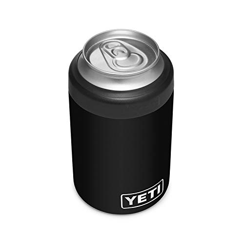YETI Rambler 12 oz. Colster Can Insulator for Standard Size Cans, Black