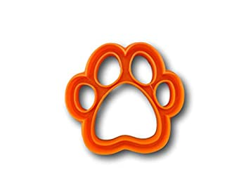 Dog Paw Cookie Cutter  1 Inch