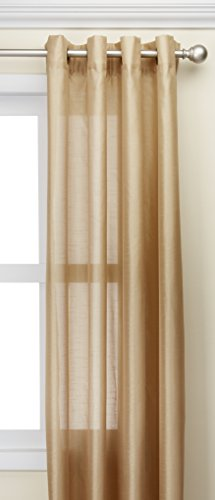 Kashi Home Holly Collection Faux Silk Window Panel/Curtain/Drape 57