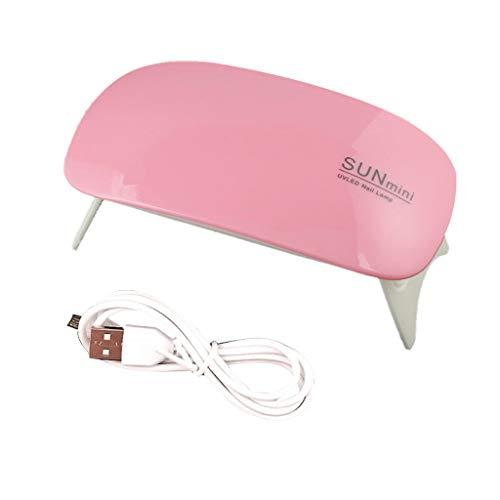 Molde de silicona con forma de epoxy UV, resistente a la luz solar, para secadora, herramientas, interfaz USB, manicura fototerapia rosa